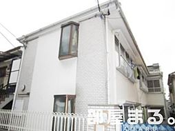 東京都渋谷区幡ヶ谷3丁目の賃貸アパートの外観