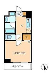 Crest Mabashi[2階]の間取り
