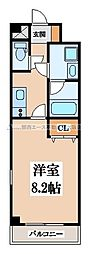 SA-COURT(エスアコート)[4階]の間取り