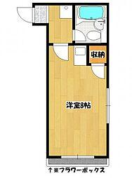 ディアコート菅野[2階]の間取り