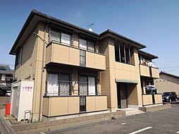 滋賀県東近江市佐生町の賃貸アパートの外観