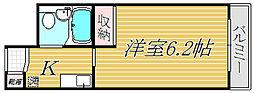 ジョイフル上北沢[3階]の間取り