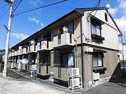 静岡県三島市徳倉2丁目の賃貸アパートの外観