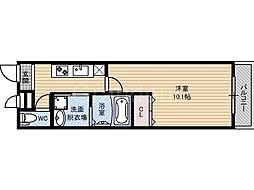 フジパレス横堤1番館[3階]の間取り