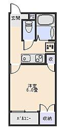 シャインズIII[1階]の間取り