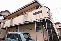 岡山県総社市総社1丁目の賃貸アパートの外観
