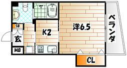 古船場タカヤコーポレーションビル[8階]の間取り