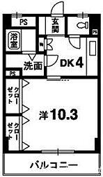 マ・メゾン吉野[2階]の間取り