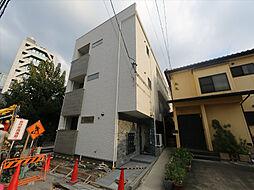 愛知県名古屋市中村区則武1丁目の賃貸アパートの外観