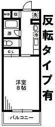 レガート湘南台[205号室]の間取り