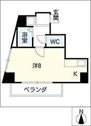 サンパーク丸の内(5〜14F)[10階]の間取り