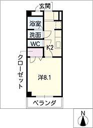 APAビルディング[2階]の間取り