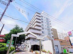 東京都東村山市栄町1丁目の賃貸マンションの外観