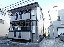 兵庫県神戸市灘区友田町2丁目の賃貸アパートの外観