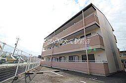 岡山県岡山市北区下伊福本町の賃貸マンションの外観