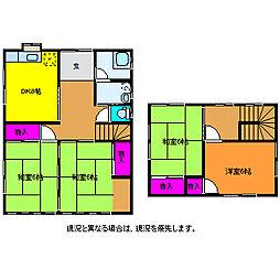 [一戸建] 新潟県新潟市西区関屋堀割町 の賃貸【/】の間取り