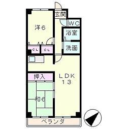 メルベーユ杉[5階]の間取り