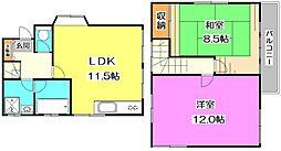 [一戸建] 東京都練馬区大泉学園町8丁目 の賃貸【/】の間取り
