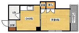 田村ビル[404号室]の間取り