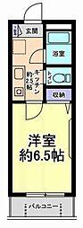神奈川県川崎市多摩区堰1丁目の賃貸マンションの間取り