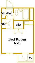 SS・1ビル[3階]の間取り