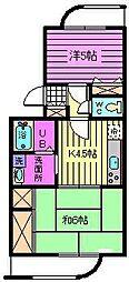 ウェルネス425[2階]の間取り