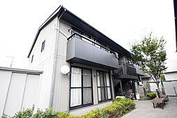 広島県広島市東区戸坂山根2丁目の賃貸アパートの外観