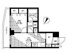 ライオンズマンション田園調布第2bt[502kk号室]の間取り