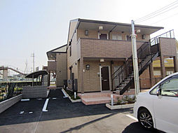 大阪府泉佐野市高松東1丁目の賃貸アパートの外観