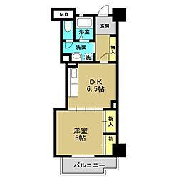 高見フローラルタウン五番街46号棟[4階]の間取り