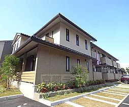 京都府京都市山科区勧修寺本堂山町の賃貸アパートの外観