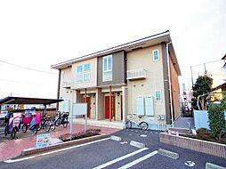 東京都東村山市久米川町2丁目の賃貸アパートの外観
