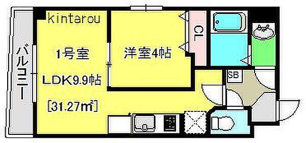 Relache新宿[601号室]の外観