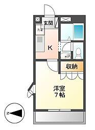 パークハイムY[1階]の間取り
