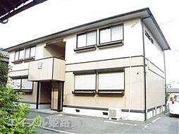 兵庫県姫路市飾磨区山崎の賃貸アパートの外観