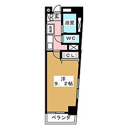 COMFYフルカワ[2階]の間取り