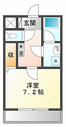 エルコンフォート[2階]の間取り