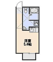 プラミネントII[2階]の間取り