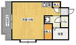 No.7ヤスモトほんぢ[3階]の間取り