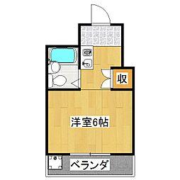 シャルトヤマハ[3階]の間取り