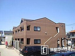愛知県豊田市本新町2丁目の賃貸アパートの外観