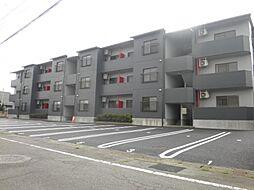 群馬県高崎市井野町の賃貸マンションの外観