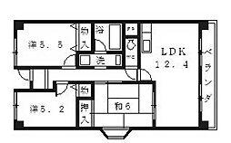 プレミール28[605号室号室]の間取り