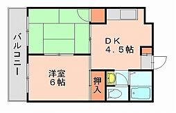 ドリーム1[3階]の間取り