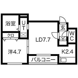 札幌市電2系統 中島公園通駅 徒歩1分の賃貸マンション