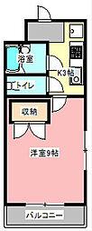 ストーク8[4階]の間取り
