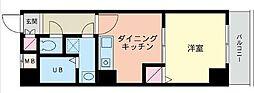 エナジー吉野町[203号室]の間取り
