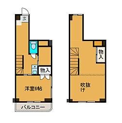 ノーブル相南[3階]の間取り
