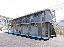 福岡県北九州市若松区ひびきの北の賃貸アパートの外観