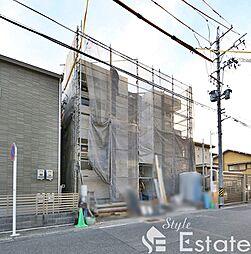 愛知県名古屋市北区田幡2丁目の賃貸アパートの外観